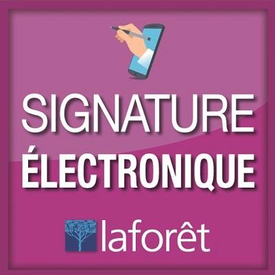 la signature électronique- Laforêt Châteaulin