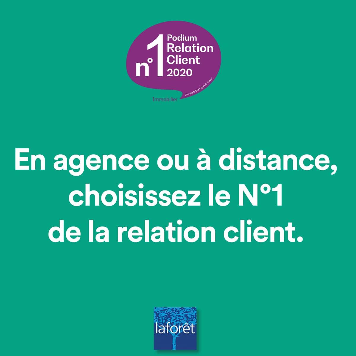 Laforêt Châteaulin-Agence de l'année_